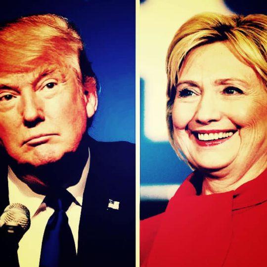 Donald J. Trump and Hillary Clinton