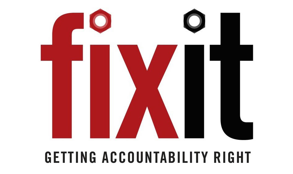 Fix It: Getting Accountability Righ