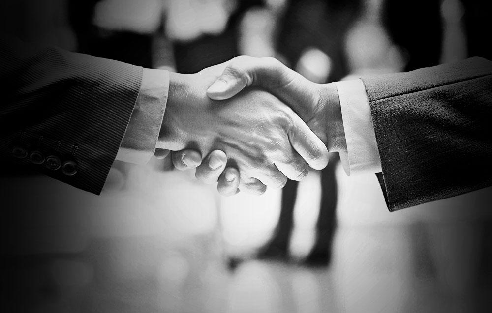 Impressive Handshake