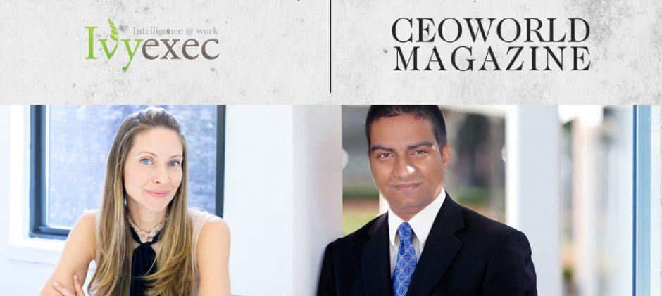 CEOWORLD Magazine and Ivy Exec Announce Strategic Partnership