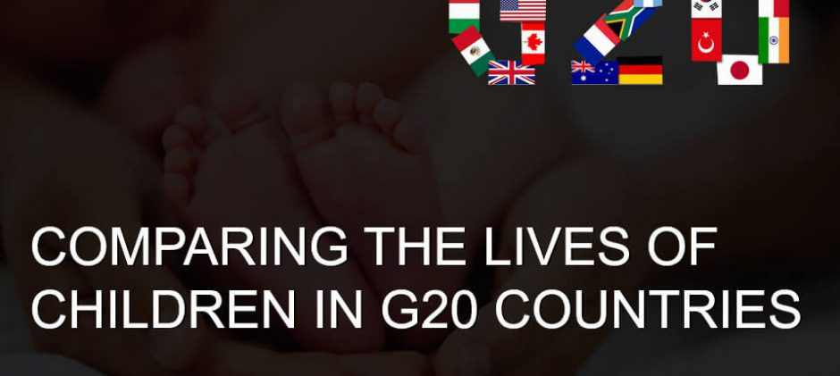 Germany Ranks Number One Among G-20 Countries For Well-Being Of Children, 2016