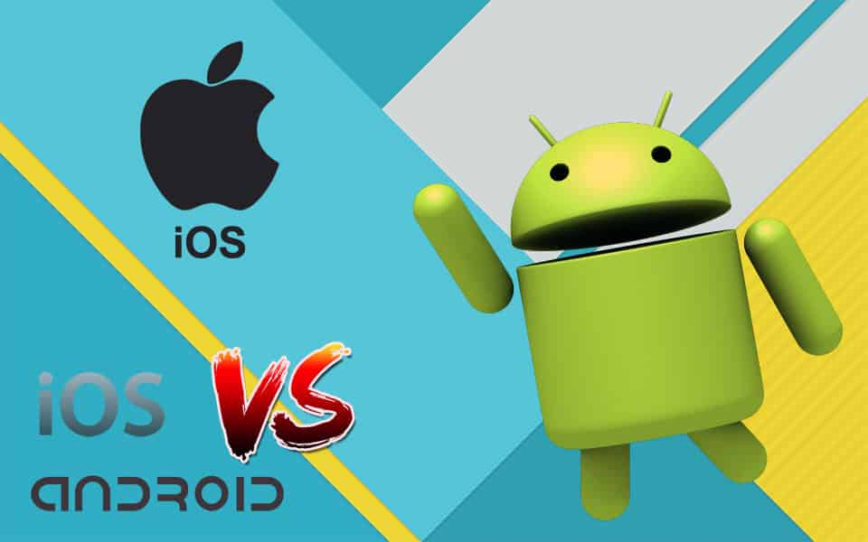 android vs iOS iphone