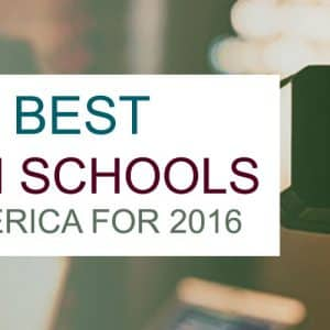 Best Film Schools In America For 2016