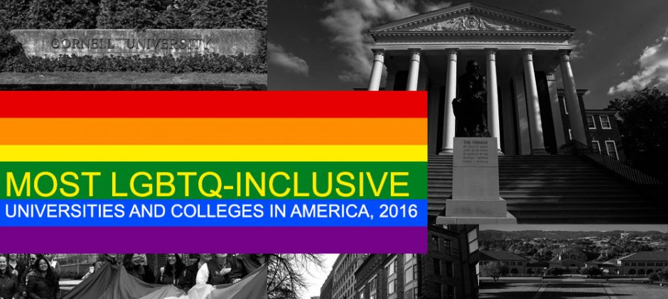 These Are The Most LGBTQ-Inclusive Universities And Colleges In America, 2016
