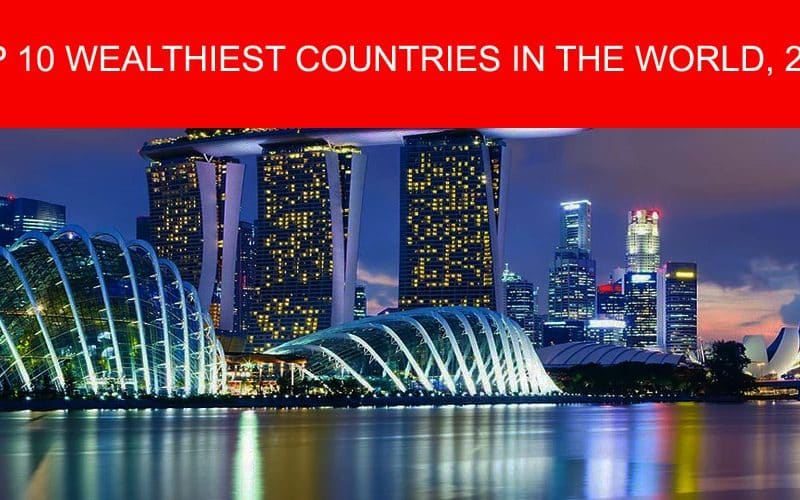 Top 10 Wealthiest Countries in the World, 2016