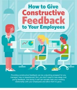 Tips 1: How to give constructive feedback to your employees