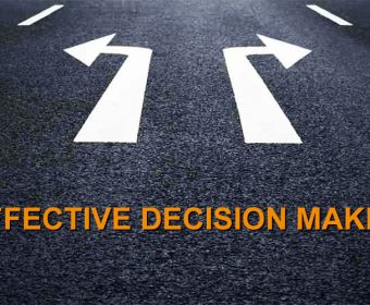 Making more progress – to accelerate progress look at how you make decisions.