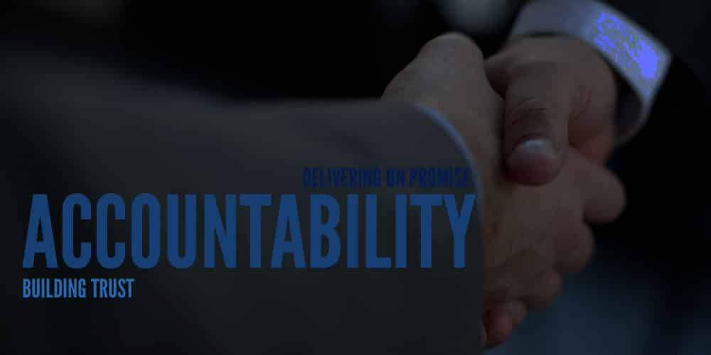 Importance of Accountability