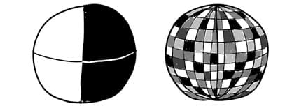 Black and white beats shades of gray