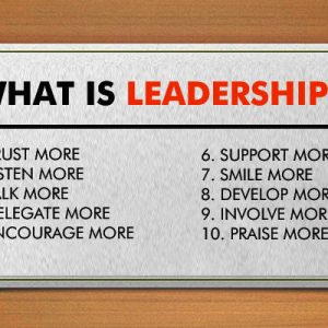 10 Simple Things That You can Do in 2017 To Improve Your Leadership