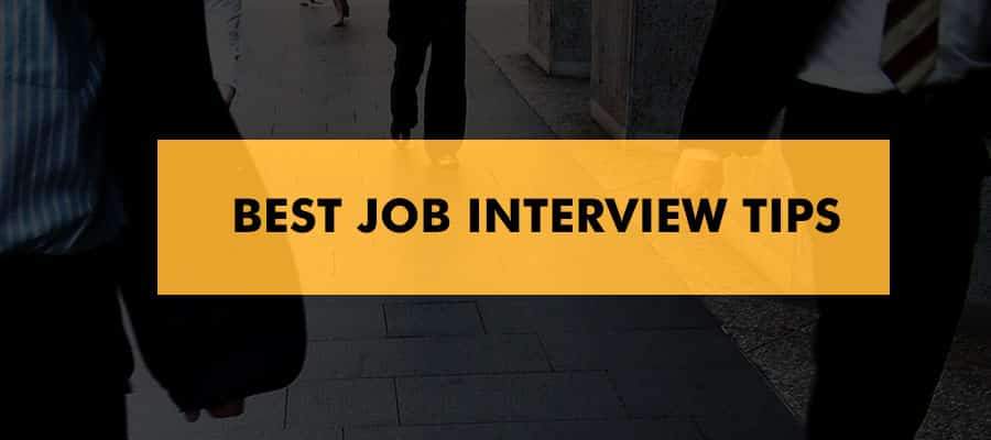 Best Job Interview Tips