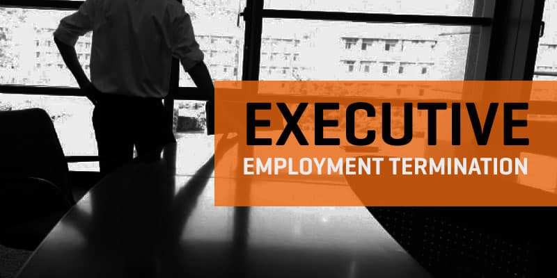EXECUTIVE EMPLOYMENT TERMINATION