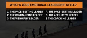 What's Your Emotional Leadership Style (Infographic)