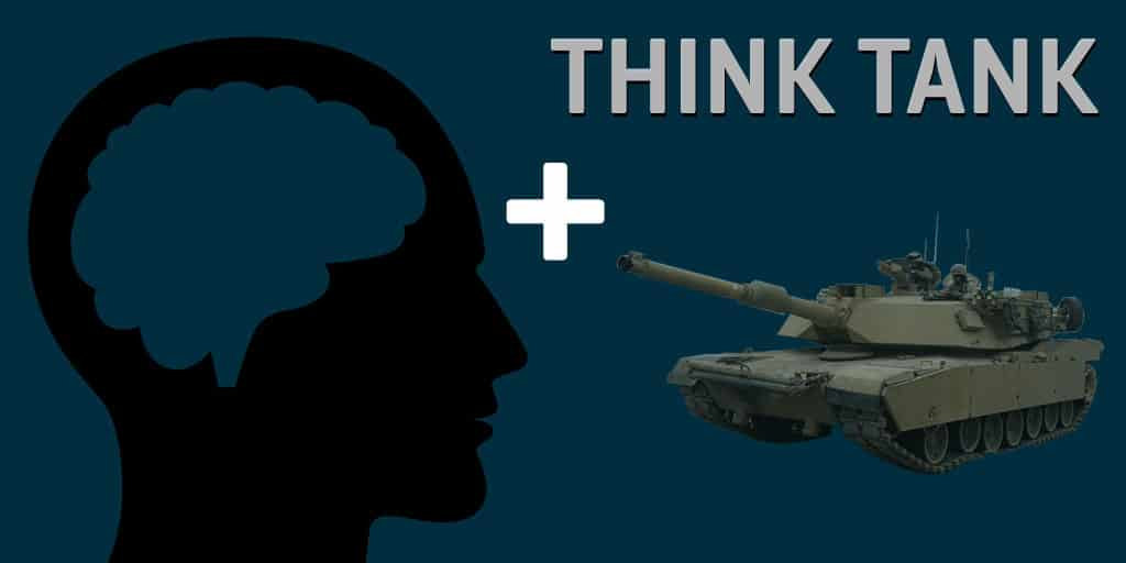 think tank Define think tank think tank synonyms, think tank pronunciation, think tank translation, english dictionary definition of think tank n a group or institution.