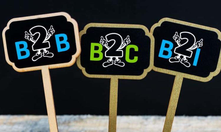B2B, B2C, B2i