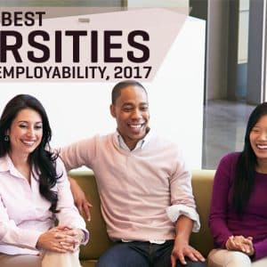World's Best Universities For Graduate Employability, 2017