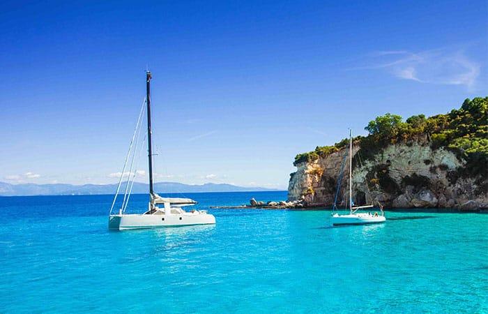 Yachtcharter Griechenland Corfu