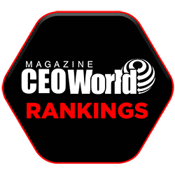 CEOWORLD Magazine Rankings
