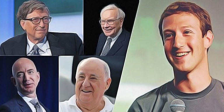 Rich List Index: The World's 500 Billionaires (Meet The Richest People On Earth)