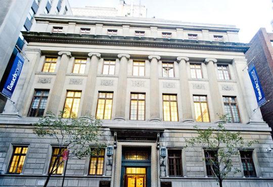 Bernard M. Baruch College New York