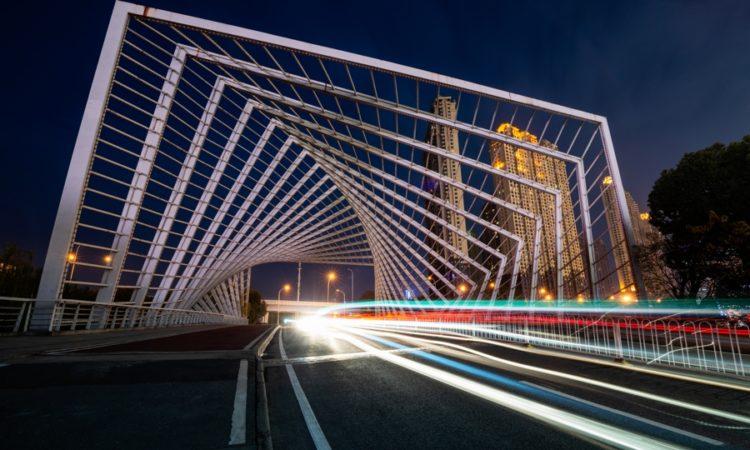 City Light Trails
