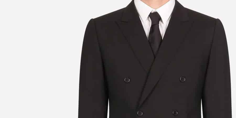 Dolce and Gabbana Suit For Businessmen