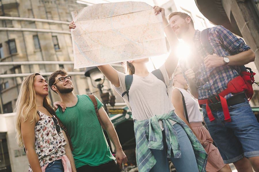 Students Traveling