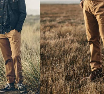 Taylor Stitch The Slim Chino in Organic British Khaki