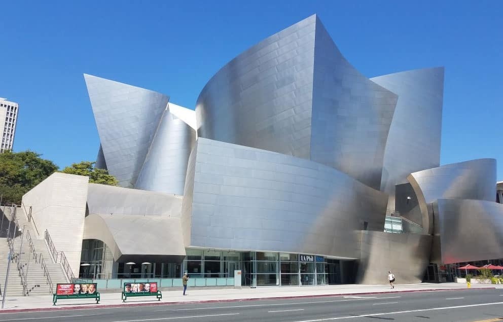Walt Disney Concert Hall, em Los Angeles, Estados Unidos