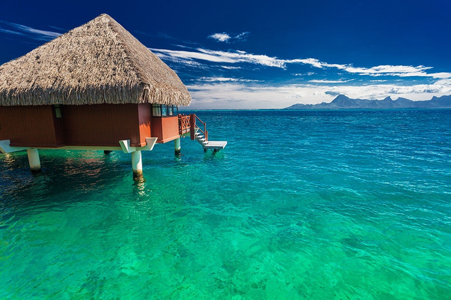 Bora Bora Island, Tahiti, French Polynesia