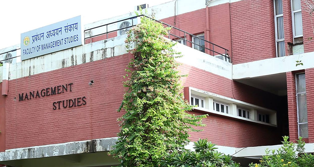 Faculty of Management Studies University of Delhi FMS Delhi, India
