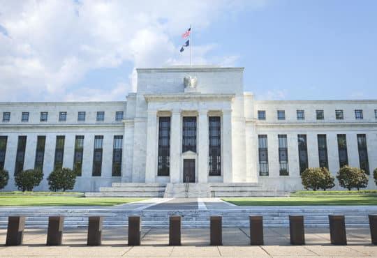 Federal Reserve Building Washington DC