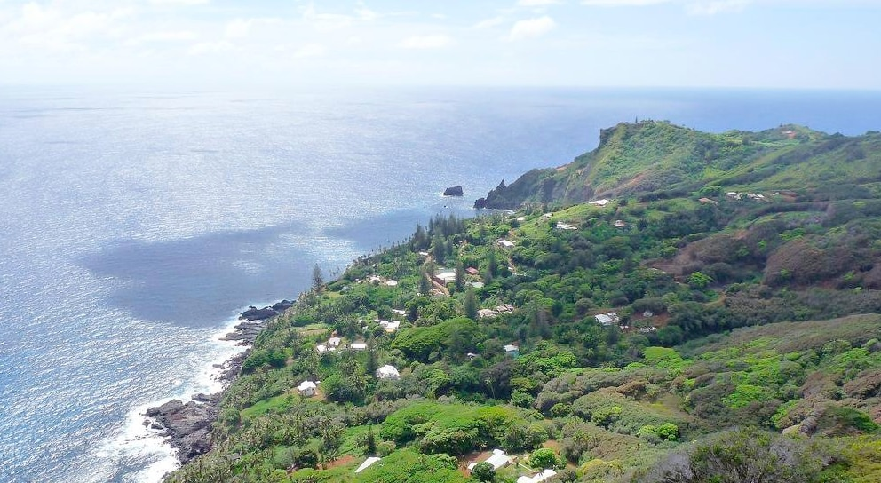 Pitcairn Islands, the southern Pacific Ocean