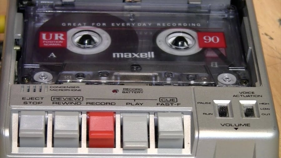 Cassettes and cassette players