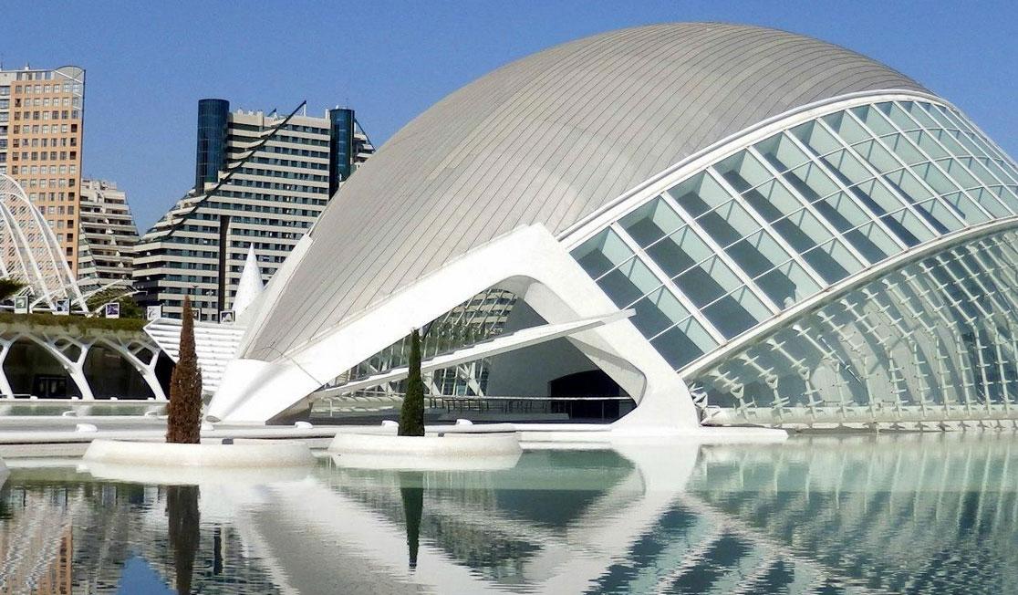 Hemisferic, Valencia, Spain L'Hemisfèric