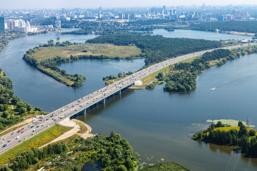 M9 highway Baltic, Highway, Moscow, Russia