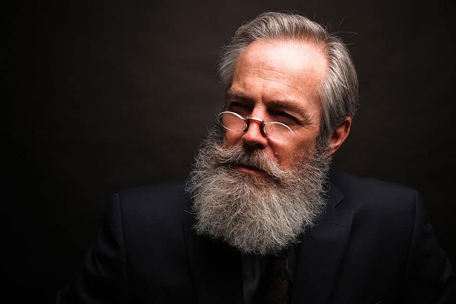 Man with the Full beard