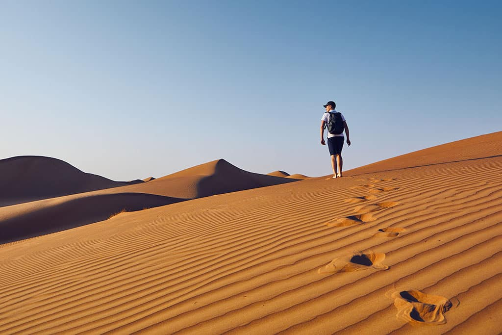 The Wahiba Sands, Muscat (Oman)