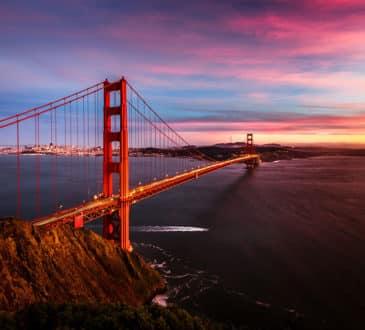 Golden Gate Bridge, San Francisco, California, US