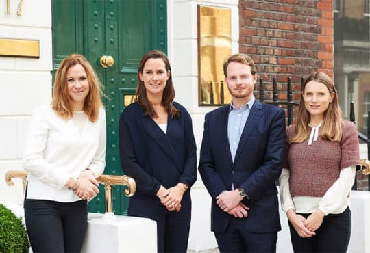 Rachel Quayle Hannah Aykroyd Edward Towers and Sophie Bonsor at Aykroyd & Co