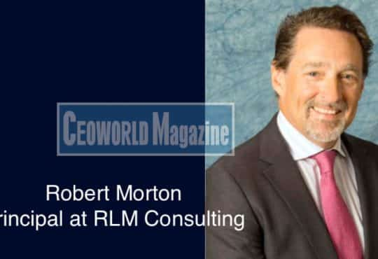 Robert Morton – Principal at RLM Consulting