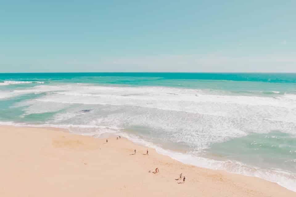 Martha's Vineyard beach, United States