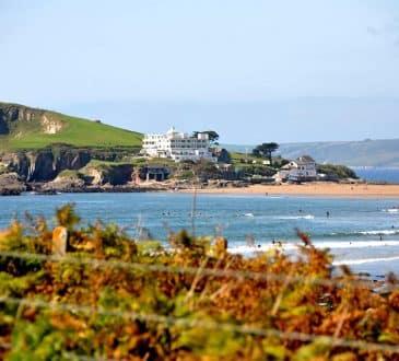 Burgh Island Devon England