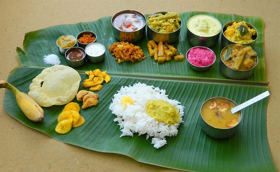 Ela Sadya Kerala Food