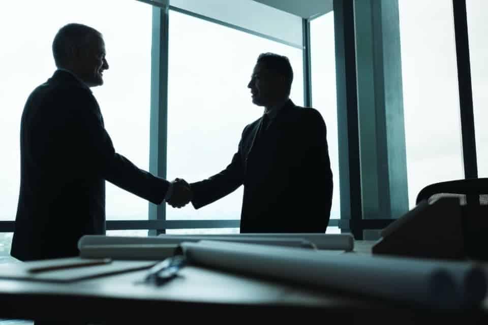 Corporate business executives
