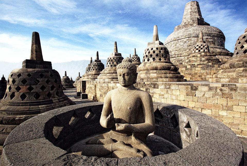 Borobudur Temple Compounds, Indonesia