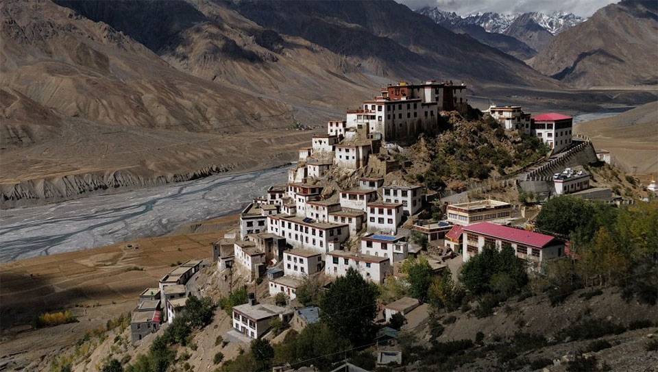 Key Monastery, Key, Himachal Pradesh, India