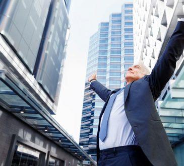 Successful Happy Businessman