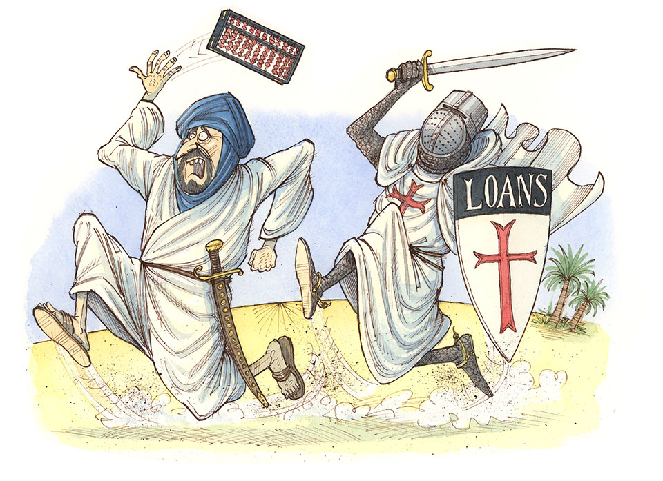 Crusaders copied Arab and Indian financial innovations