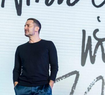 American fashion designer Marc Jacobs